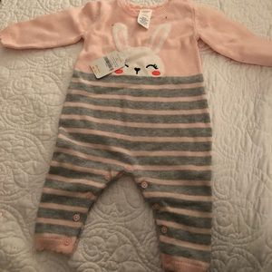 Girls Gymboree Bunny Sweater Suit